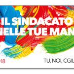 2018 il sindacato nelle tue mani: iscriviti, partecipa, decidi