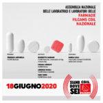 Assemblea online della Filcams CGIL per le farmacie 18 giugno ore 21