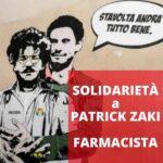 Solidarietà a Patrick Zaki, farmacista